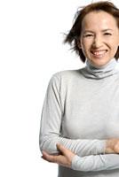 40代日本人女性のポートレート 30703000027| 写真素材・ストックフォト・画像・イラスト素材|アマナイメージズ