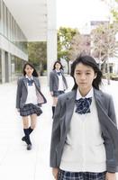 女子高校生のポートレート
