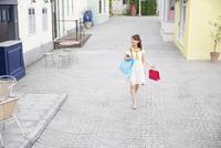 ショッピングを楽しむ女性 33000002918| 写真素材・ストックフォト・画像・イラスト素材|アマナイメージズ