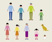 人物(家族・犬) 60000000051| 写真素材・ストックフォト・画像・イラスト素材|アマナイメージズ