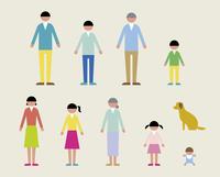 人物(家族・犬)/春 60000000052| 写真素材・ストックフォト・画像・イラスト素材|アマナイメージズ