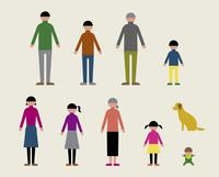 人物(家族・犬)/秋 60000000054| 写真素材・ストックフォト・画像・イラスト素材|アマナイメージズ
