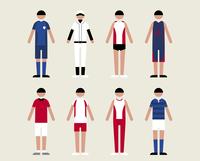 男性(スポーツ) 60000000061| 写真素材・ストックフォト・画像・イラスト素材|アマナイメージズ