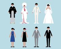 人物(結婚式1)