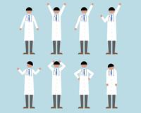 医者(いろいろな感情) 60000000114| 写真素材・ストックフォト・画像・イラスト素材|アマナイメージズ