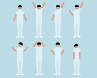 看護師男性(いろいろな感情) 60000000116| 写真素材・ストックフォト・画像・イラスト素材|アマナイメージズ