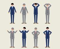 ビジネス男性・シニア(感情2) 60000000173| 写真素材・ストックフォト・画像・イラスト素材|アマナイメージズ