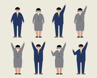 肥満のビジネスマン(感情1) 60000000227| 写真素材・ストックフォト・画像・イラスト素材|アマナイメージズ