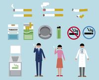 タバコ・喫煙モチーフ 60000000228| 写真素材・ストックフォト・画像・イラスト素材|アマナイメージズ