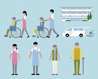 老人ホーム・介護 60000000230| 写真素材・ストックフォト・画像・イラスト素材|アマナイメージズ