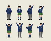 肥満の学生(感情1) 60000000232| 写真素材・ストックフォト・画像・イラスト素材|アマナイメージズ