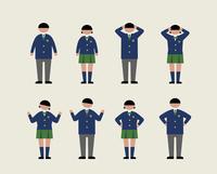 肥満の学生(感情2)