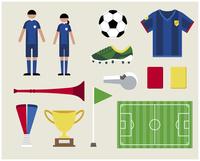 サッカーセット 60000000261| 写真素材・ストックフォト・画像・イラスト素材|アマナイメージズ