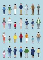様々な人セット 60000000290| 写真素材・ストックフォト・画像・イラスト素材|アマナイメージズ