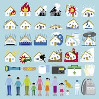 災害防災セット 60000000296| 写真素材・ストックフォト・画像・イラスト素材|アマナイメージズ