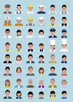 働く人セット(バストアップ) 60000000310| 写真素材・ストックフォト・画像・イラスト素材|アマナイメージズ