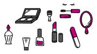 化粧品アイテム