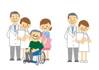 介護と看護 医師と看護師
