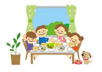 家族(親子) 食事