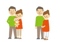 夫婦と家族 60002000121| 写真素材・ストックフォト・画像・イラスト素材|アマナイメージズ