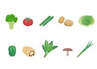 野菜 60003000003| 写真素材・ストックフォト・画像・イラスト素材|アマナイメージズ