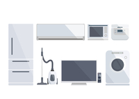 白物家電 60003000008| 写真素材・ストックフォト・画像・イラスト素材|アマナイメージズ