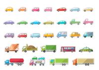沢山の車 60003000043  写真素材・ストックフォト・画像・イラスト素材 アマナイメージズ