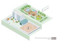 町づくりパーツ 60003000065| 写真素材・ストックフォト・画像・イラスト素材|アマナイメージズ