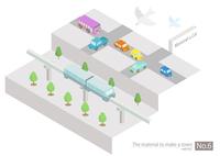 町づくりパーツ 60003000066| 写真素材・ストックフォト・画像・イラスト素材|アマナイメージズ