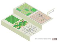 町づくりパーツ 60003000067| 写真素材・ストックフォト・画像・イラスト素材|アマナイメージズ