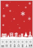 クリスマス: 街並み 赤 60003000077| 写真素材・ストックフォト・画像・イラスト素材|アマナイメージズ