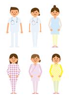 婦人科 妊婦と医者