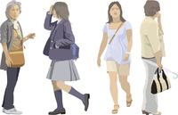 中高年女性・ヤング(4人)