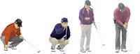 ゴルフ(シニア3・ヤング1)