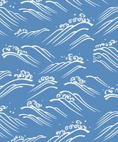 千代紙の波