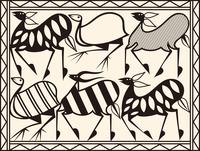 民族文様(アフリカ) 60006000203| 写真素材・ストックフォト・画像・イラスト素材|アマナイメージズ