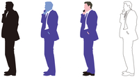 ビジネス男性 60008000080| 写真素材・ストックフォト・画像・イラスト素材|アマナイメージズ