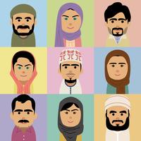 中東人男女の集合イラスト 60008000261| 写真素材・ストックフォト・画像・イラスト素材|アマナイメージズ