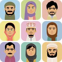 中東人男女の集合イラスト 60008000262| 写真素材・ストックフォト・画像・イラスト素材|アマナイメージズ