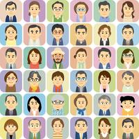中高年の男女集合イラスト 60008000274| 写真素材・ストックフォト・画像・イラスト素材|アマナイメージズ