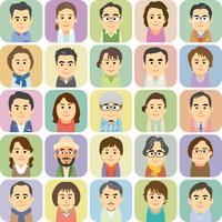 中高年の男女集合イラスト 60008000276| 写真素材・ストックフォト・画像・イラスト素材|アマナイメージズ