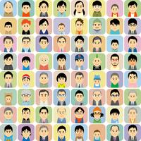 様々な世代の男性集合イラスト 60008000300| 写真素材・ストックフォト・画像・イラスト素材|アマナイメージズ