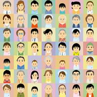 医療機関で働く男女と患者の集合イラスト 60008000307| 写真素材・ストックフォト・画像・イラスト素材|アマナイメージズ