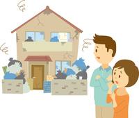 ゴミ屋敷 60008000372| 写真素材・ストックフォト・画像・イラスト素材|アマナイメージズ