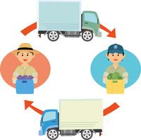 青果の集出荷体制