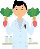 産学連携での野菜の品種開発 60008000453| 写真素材・ストックフォト・画像・イラスト素材|アマナイメージズ