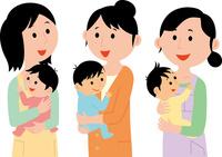 子育てする若い女性 60008000455| 写真素材・ストックフォト・画像・イラスト素材|アマナイメージズ