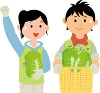 農業ボランティア 60008000481| 写真素材・ストックフォト・画像・イラスト素材|アマナイメージズ