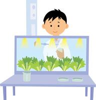 野菜の品種開発 60008000493| 写真素材・ストックフォト・画像・イラスト素材|アマナイメージズ