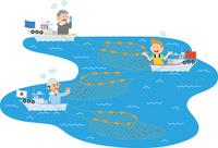 水産資源の他国との奪い合い